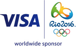 Logo Visa Rio 2016 wordlwide sponsor