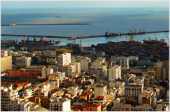 Vistas de la ciudad de Argel, Argelia