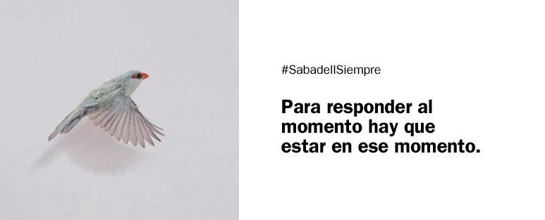 Operar online y desde la distancia en Banc Sabadell