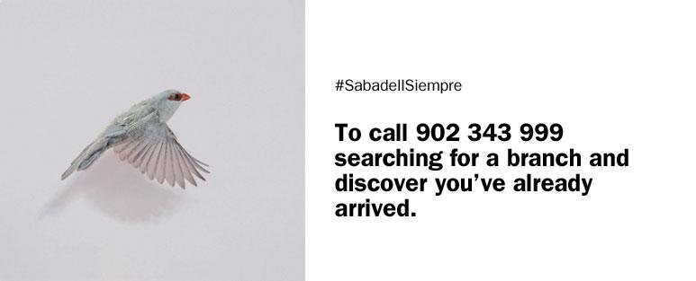 Realizar operaciones en Banc Sabadell por teléfono